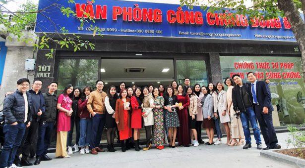 Văn Phòng Công Chứng Đông Đô khai Xuân đầu năm Canh Tý