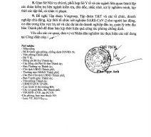 Công điện khẩn số 11/CĐ-UBND của Chủ tịch UBND Thành phố Hà Nội về việc quyết liệt triển khai các biện pháp phòng, chống dịch Covid-19 trên địa bàn Thành phố